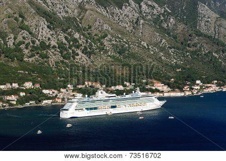 Cruise Ship Serenade Of The Seas Montenegro. September 23, 2014