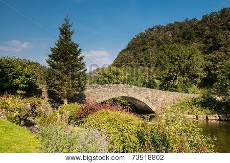 Grange Bridge And River Derwent