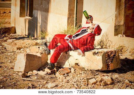 Drinking Santa
