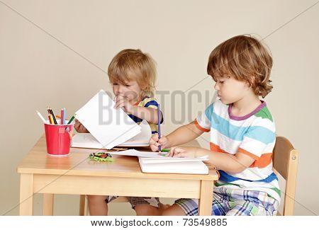 Kids Children Drawing Art
