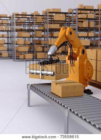 Robotic Palletising and Packaging