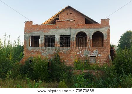 Construction Of The Brick House