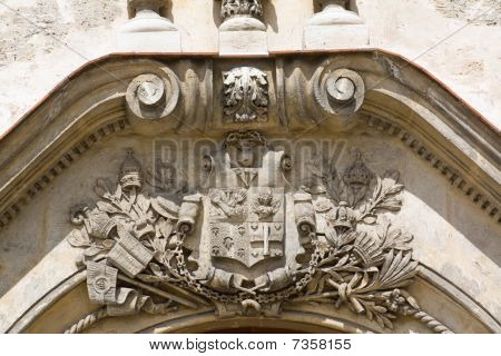 Architectural Detail Of An Old Colonial Church (vi)