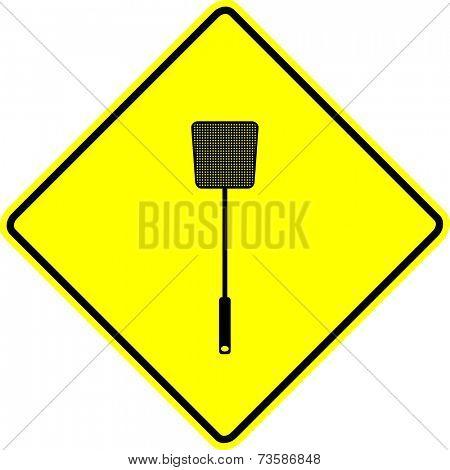 flyswatter sign