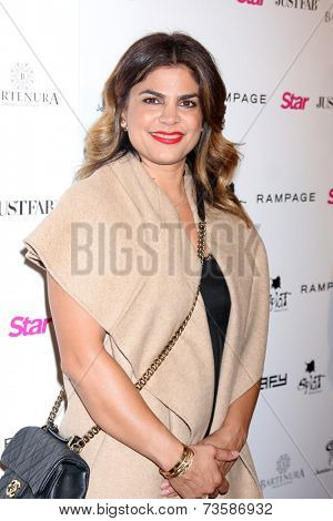 LOS ANGELES - OCT 9:  Azzy at the Star Magazine Scene Stealers Event at Lure on October 9, 2014 in Los Angeles, CA