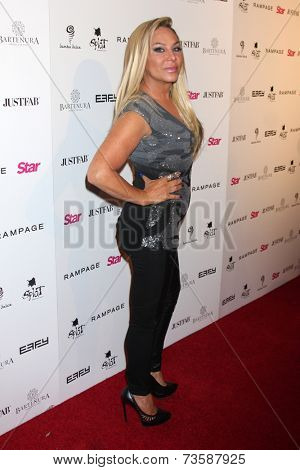 LOS ANGELES - OCT 9:  Adrienne Maloof at the Star Magazine Scene Stealers Event at Lure on October 9, 2014 in Los Angeles, CA
