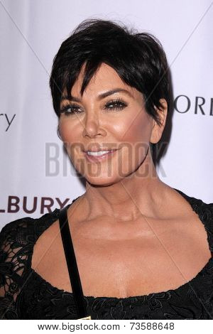 LOS ANGELES - OCT 9:  Kris Jenner at the Charlotte Tilbury Makeup Your Destiny Beauty Festival at The Grove on October 9, 2014 in Los Angeles, CA