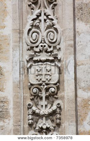 Architectural Detail Of An Old Colonial Church (x)