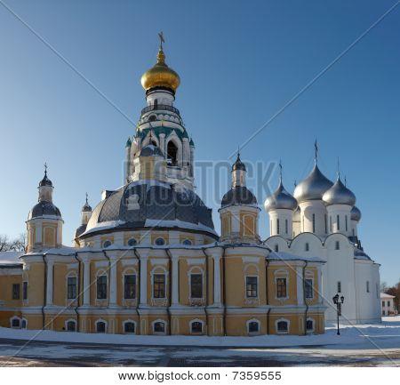 Vologda Kremlin In Russia