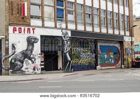 Graffiti Street Art, Hoxton
