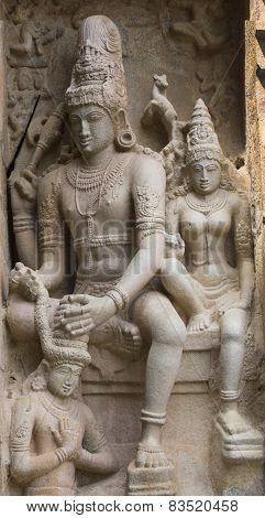 Chandesanugraha Murti At Gangaikunda Temple.