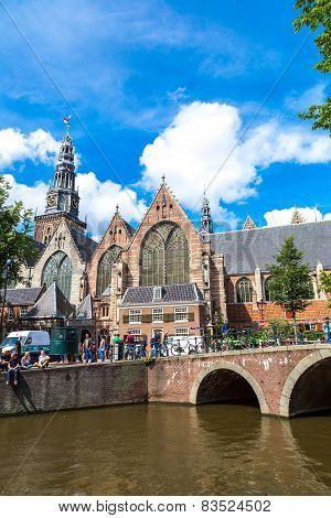Oude Kerk   In Amsterdam