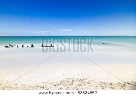 Ship Wreck at CY O'Connor Beach, Perth, Western Australia poster