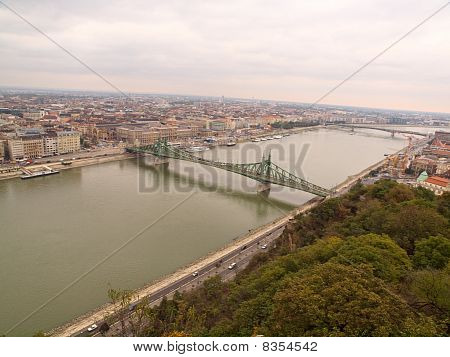 Budapest On A Cloudy Day