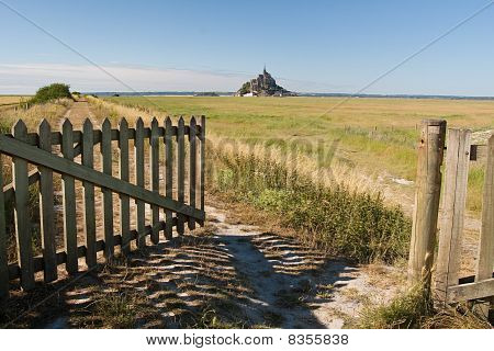 Open Gate To French Field