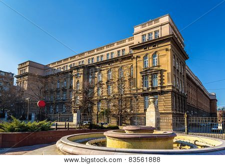 Technical Faculties Building - Belgrade University, Serbia