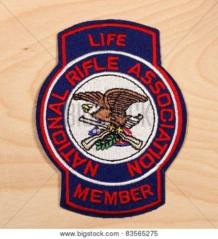 National Rifle Association Patch