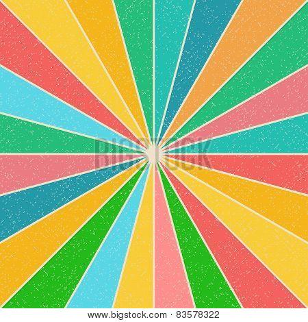 Bright Multi-colored Background