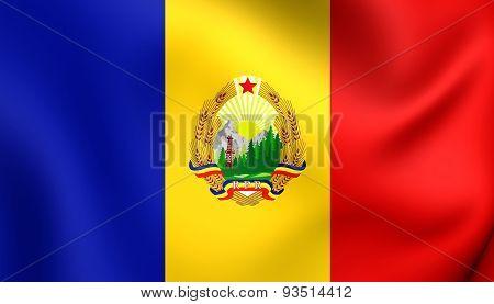 Flag Of The Romania (1952-1965)