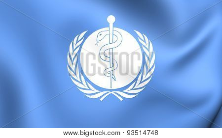 Flag Of The World Health Organization