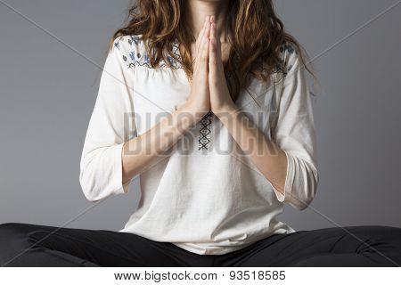 Namaste Woman