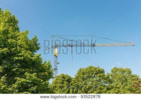 Construction Site in Hamburg