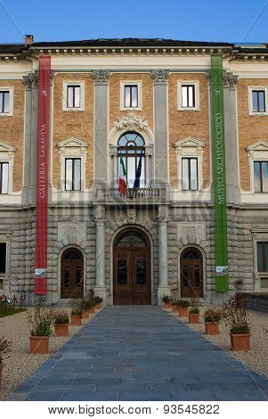 Sabauda Gallery In Turin, Italy