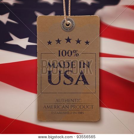 Made in USA. Vintage, realistic price tag.