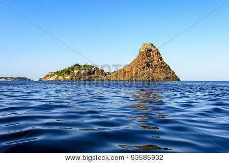 The natural park of Cyclops, in Sicily