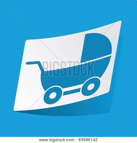 Pram sticker