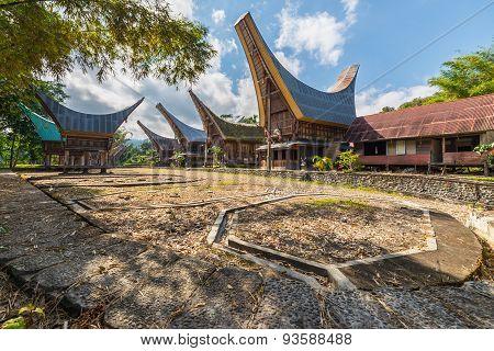 Scenic Traditional Village In Tana Toraja