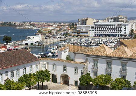 Old City of Faro, Algarve, Portugal Europe