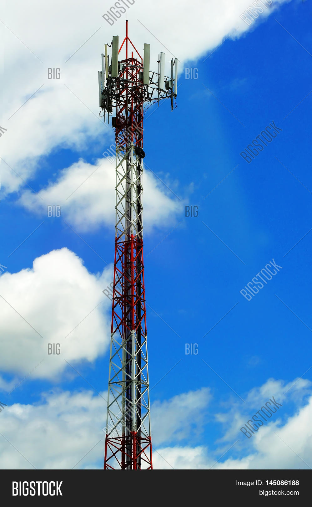 Pole Telephone Image Photo Free Trial Bigstock Transmitter The Background Sky And Clouds Are Very Beautiful