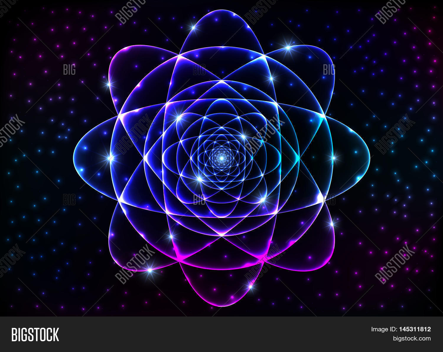 Sacred geometry symbol mandala image photo bigstock sacred geometry symbol mandala mystery element background for space universe big bang alchemy religion buycottarizona