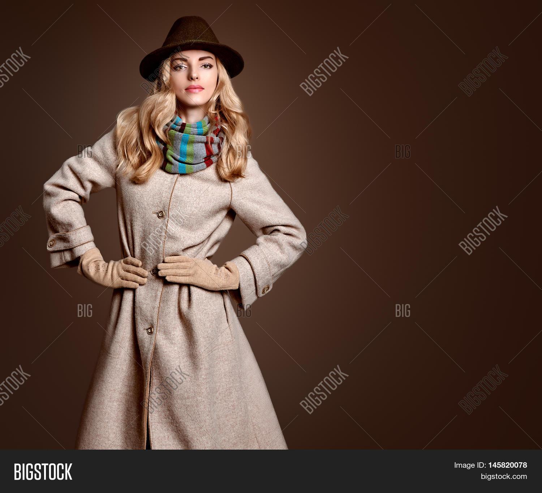 Winter Fashion Model Photography: Fall Fashion. Model Image & Photo (Free Trial)