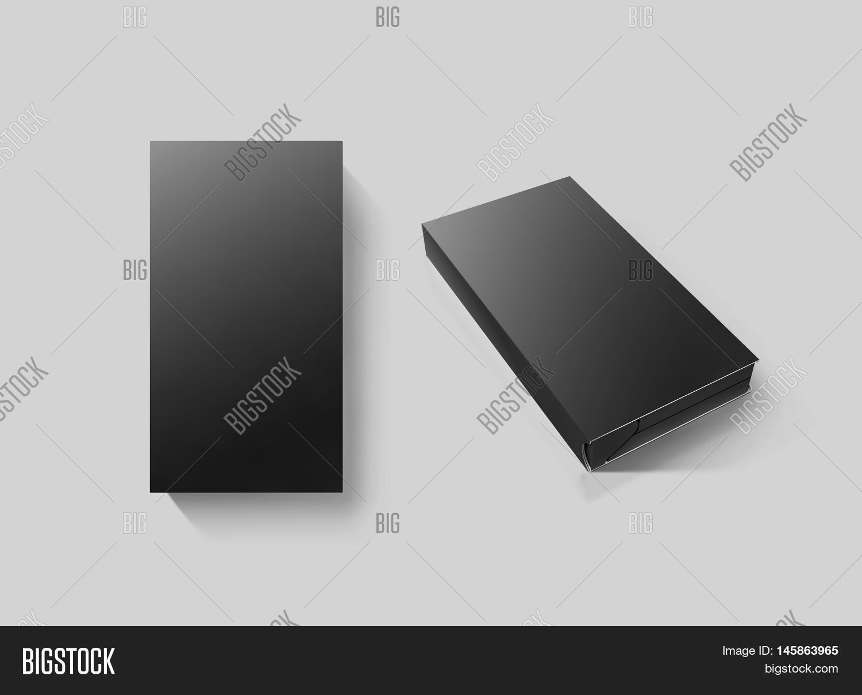 blank black video cassette tape box image photo bigstock. Black Bedroom Furniture Sets. Home Design Ideas