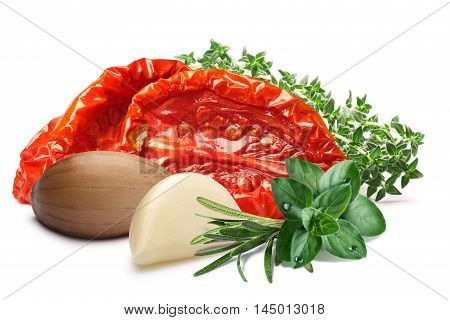 Sundried Oiled Tomatoes With Herbs, Paths