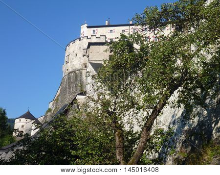 Castle On A Hill In Austria