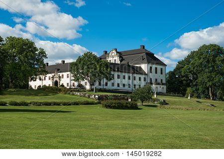 Castle (Tidö) in Sweden. Earlier home of high society people.Today a tourist attraction.