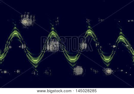 Abstract Light Blur Background Vintage
