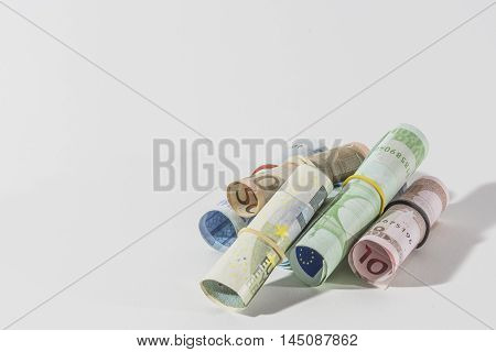 background, banknote, money, prize, roll, note, finance, hundred, investment, paying, savings, financial, currency, business, bill, banking, closeup, wealth, save, dollar, 50, pay, rolled, payment, pile, profit, rate, wages, white, success
