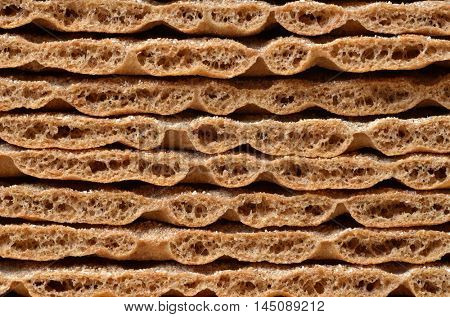cereal crackers as background