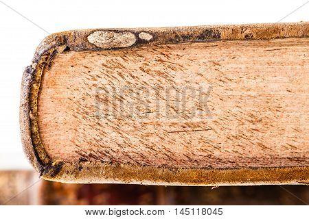 Ancient Book Closeup