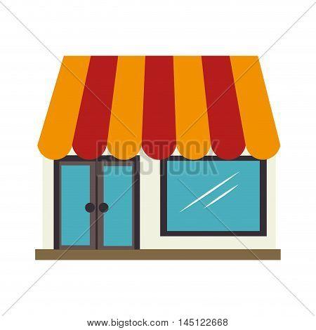 market buy shop store  icon design, vector illustration
