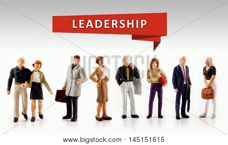 group of people - Leadership Management Director Concept