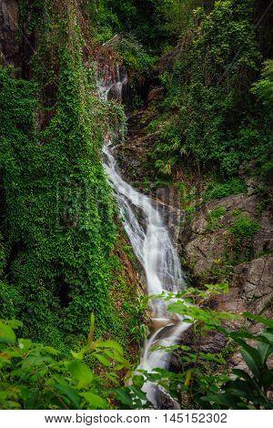 Huay Keaw Waterfall Doi Suthep National Park Chiang Mai Thailand.