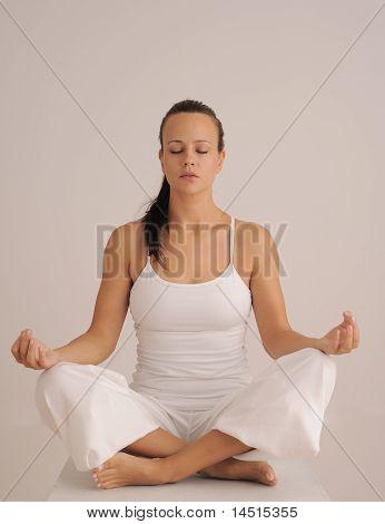Sitting Yoga Meditation Pose