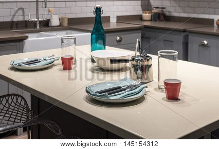Contemporary Breakfast Table