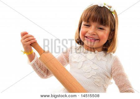 Bride With A Rolldough