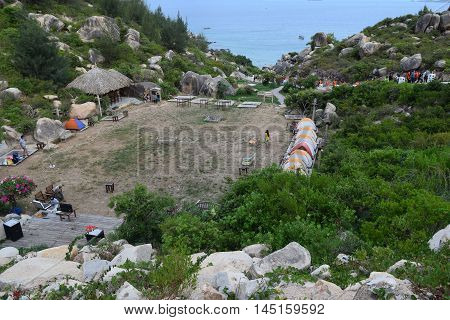 Tropical Trung Luong Beach And Camping Site